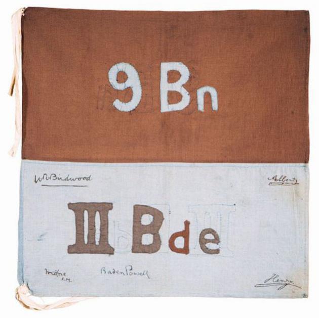9th Battalion pennant