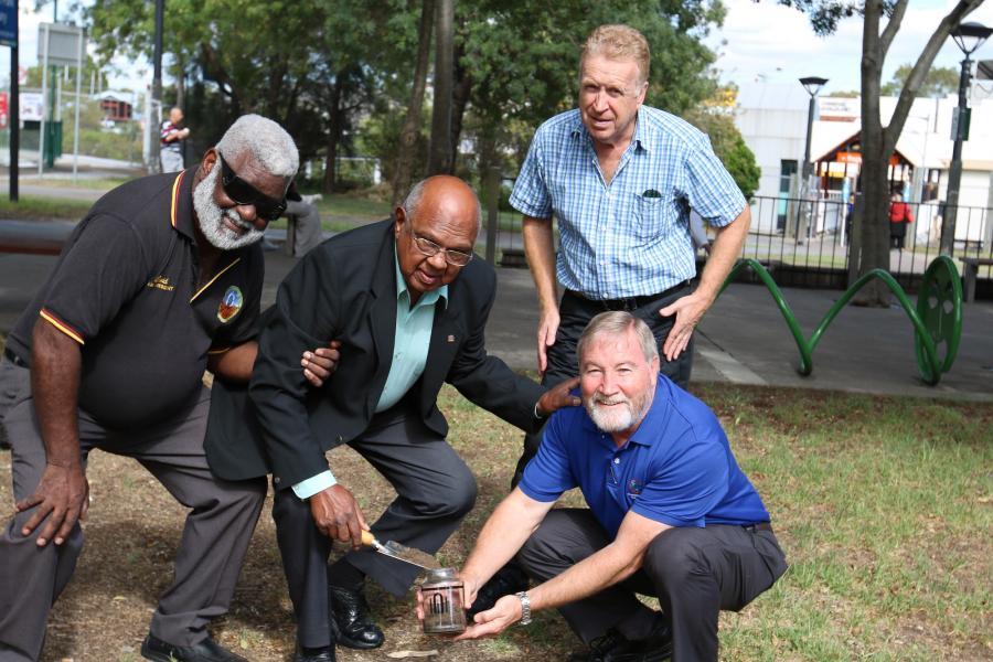 Regents Park soil collection