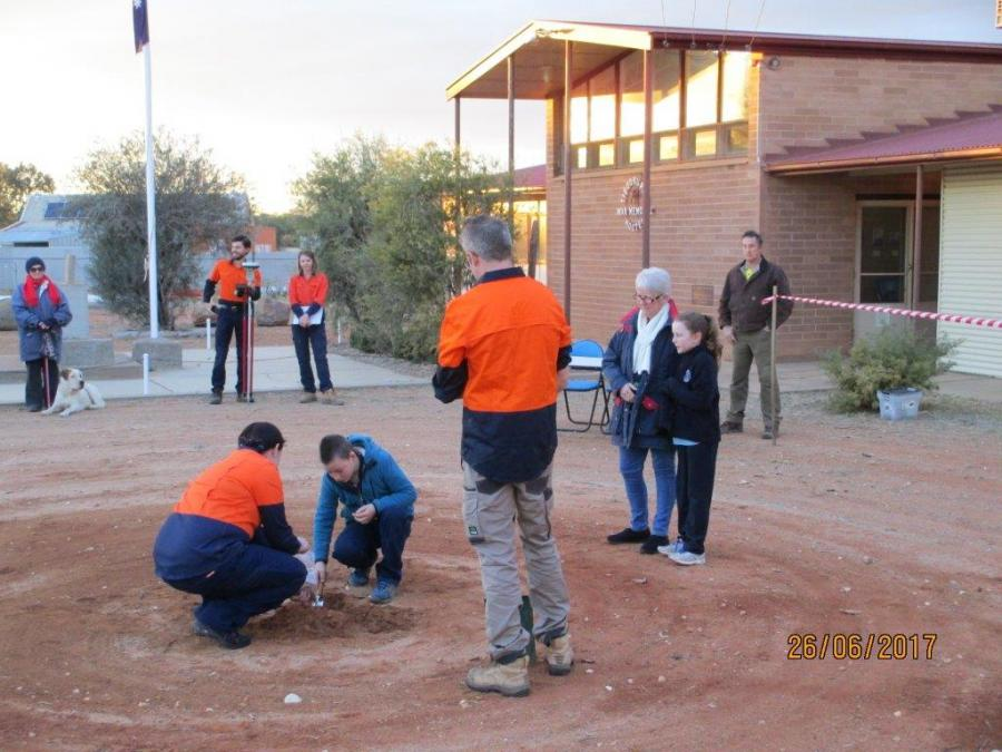 Tibooburra soil collection